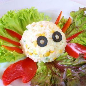 Салат куриный «Колобок»