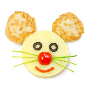 Котлетка куриная с картофелем пюре