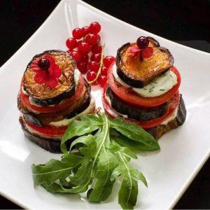 Жареные   овощи  на гриле